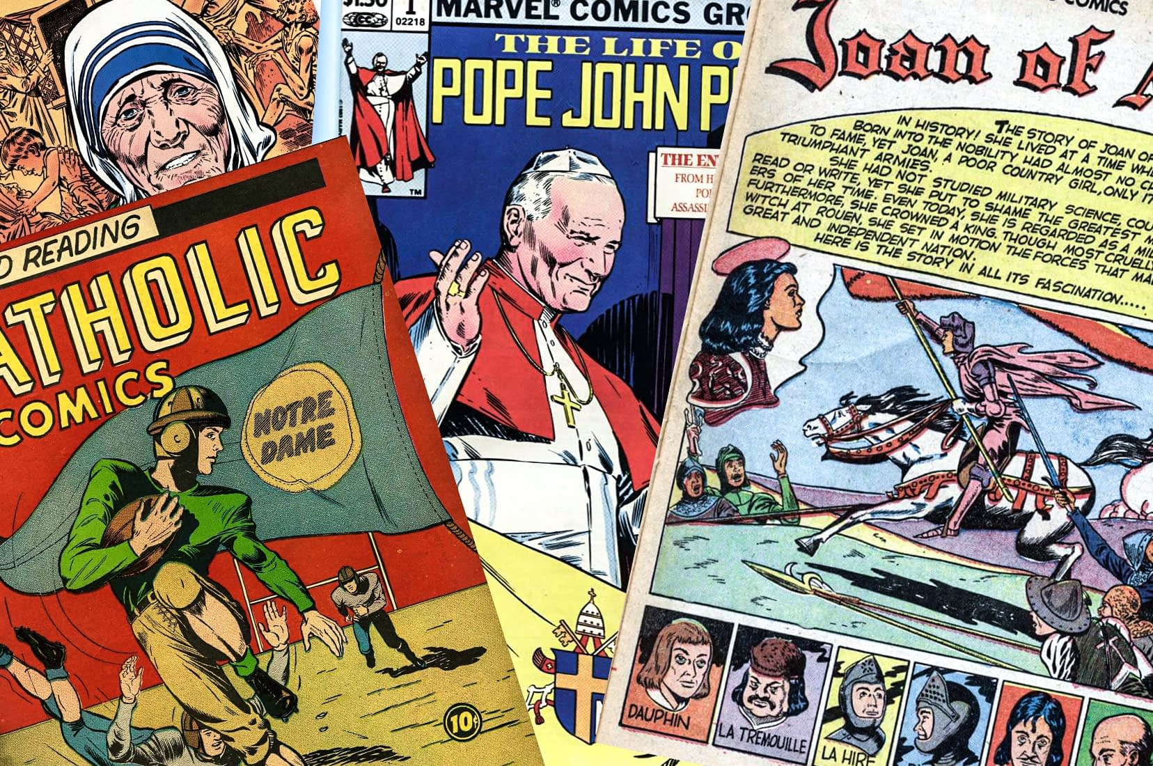 CATHOLIC COMIC BOOKS
